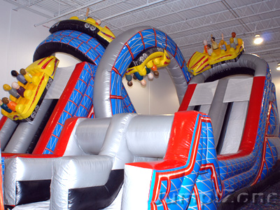 Jump Zone Birthday Party Indoor Inflatable Jumping Party
