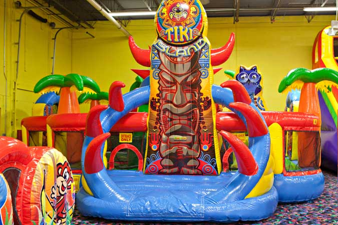 Birthday Party Indoor Inflatable Jumping Party Bounce Play